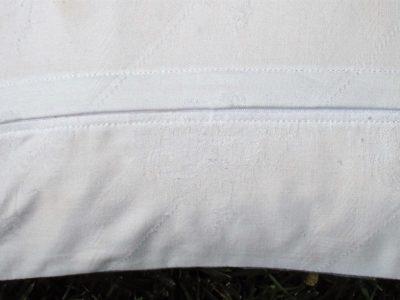 Kissenrückseite mit verdecktem Reißverschluss – Tutorial – Stoff und Zwirn
